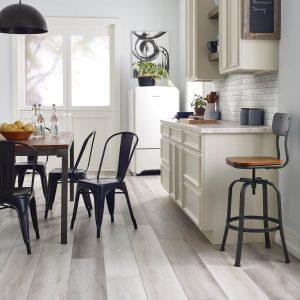Farmhouse kitchen vinyl flooring | Sterling Carpet Shops, Inc