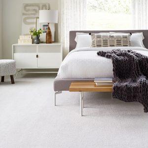 Bedroom carpet flooring | Sterling Carpet Shops, Inc