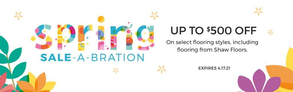 Spring Sale-A-Bration   Sterling Carpet Shops, Inc