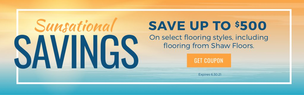 Sunsational Savings Sale   Sterling Carpet Shops, Inc