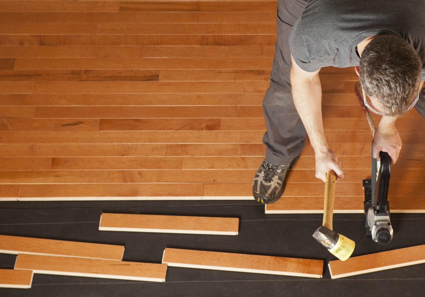 Hardwood installation | Sterling Carpet Shops, Inc