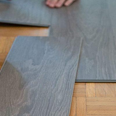 installing vinyl flooring | Sterling Carpet Shops, Inc