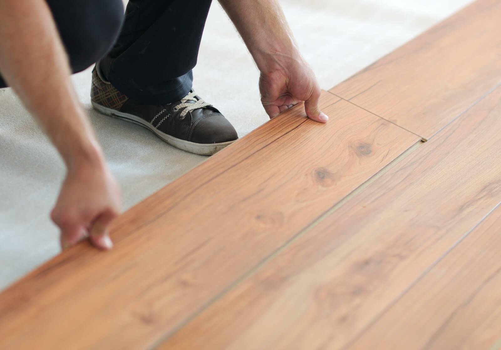 Laminate installation | Sterling Carpet Shops, Inc